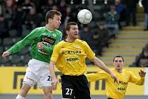 V neděli 28.2. začal FK Baumit extraligu utkáním s Bohemians 1905. 21 Lafata David, 27 Cseh Martin.