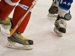 Hokejové utkání. Ilustrační snímek.