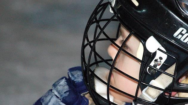 Mládežnický hokej. Ilustrační snímek.