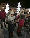 Česko zpívá koledy s Deníkem v Jablonci nad Nisou.
