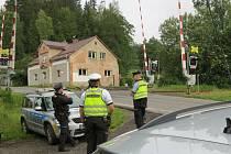 Policisté se opět zaměřili na železniční přejezdy.