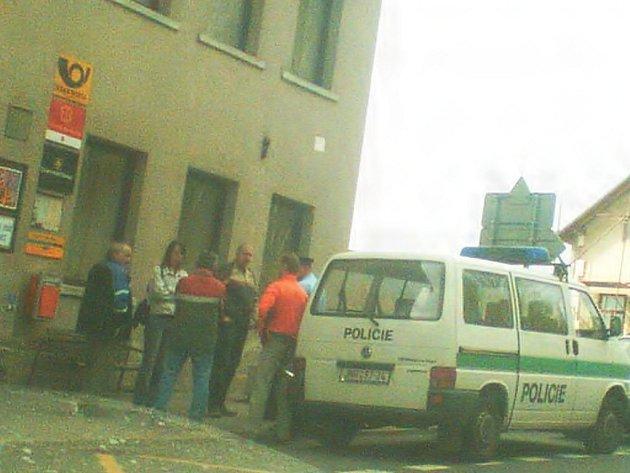 Vyloupená pošta v Loužnici