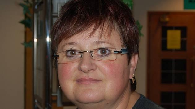 Daniela Vavřínková, vedoucí sociální služby