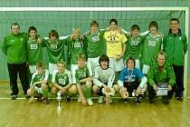 Vítězové. Tým FK Jablonec 97 A ročník 1993 nenašel na turnaji žádného přemožitele.
