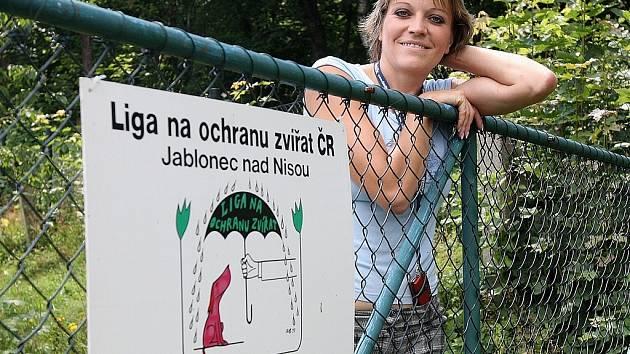 Dagmar Kubištová z lučanského útulku Dášenka.