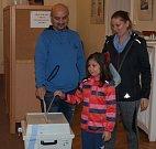 Volby do Parlamentu v Desné v Jizerských horách.