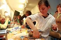 MUZEJNÍ NOC přitahuje pozornost dospělých i dětí. Již tradičně jsou pro ně připraveny dílničky a soutěže.
