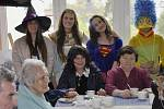 Čarodějnice na Oddělení následné péče v turnovské nemocnici.
