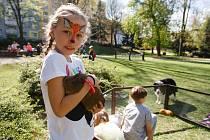 Den Země v Tyršově parku v Jablonci nad Nisou.