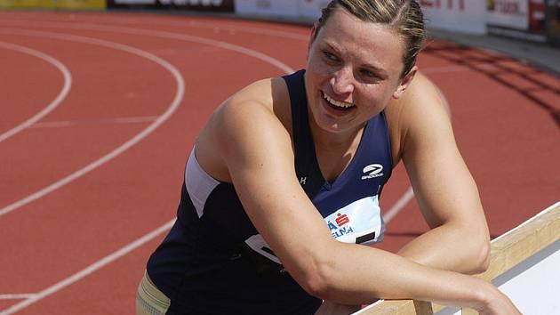 Atletická reprezentantka Lucie  Škrobáková.