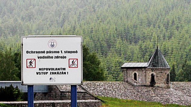 Přehrada Souš je zásobárnou pitné vody pro Jablonecko a část Liberecka.