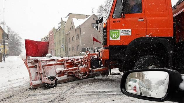 Ilustrační foto: zimní údržba v Jablonci nad Nisou