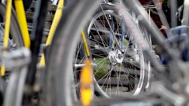 Cyklistické závody. Ilustrační snímek.