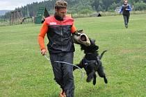 V Lukášově instruktoři používají při výcviku metodu tzv. pozitivní posilování, která je vhodná pro všechna plemena psů. je nutné psa přesvědčit, že výcvik je vlastně zábava.