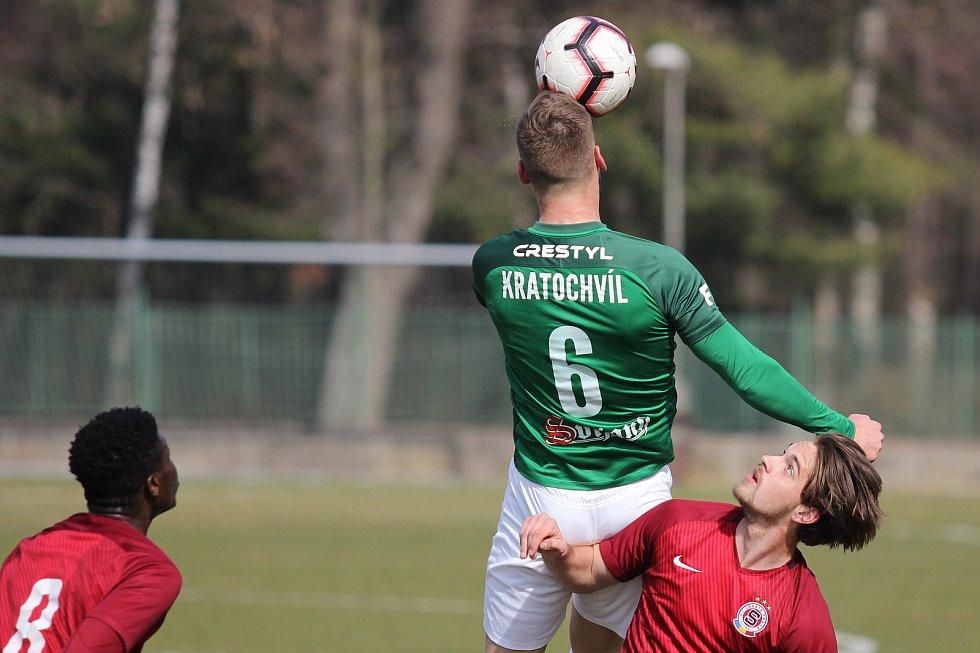 Reprezentační přestávku si jablonečtí prvoligoví fotbalisté zpestřili zápasem s juniorkou Sparty.