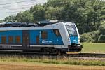 Ilustrační snímek. Osobní vlak.