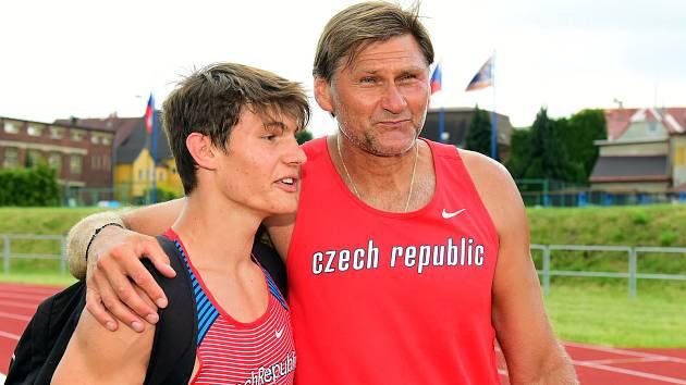 """""""Chci být nejlepší na světě a na olympiádě vyhrát medaili,"""" má jasno Franta Doubek z AC Jablonec."""