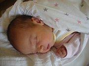 MARIE NESVADBOVÁ se narodila v pondělí 9. října mamince Pavle Nesvadbové z Jablonce nad Nisou. Měřila 49 cm a vážila 3,23 kg.