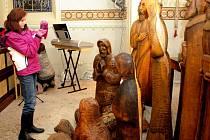 Loučenský betlém přitahuje pozornost již léta