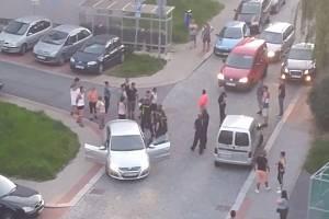 Úterní rvačka v Jablonci nad Nisou.
