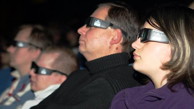 3D představení v jabloneckém kině Radnice.