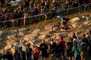 JBC XRevelations, závod světové série ve fourcrossu horských kol v areálu na Dobré Vodě. Fotografie z předchozích ročníků.