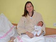 V jablonecké porodnici bylo na Nový rok tak rušno, že se tu narodil i první chlapeček Libereckého kraje Lukáš Skála.