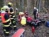 Ve středu odpoledne v serpentinách z Brodu směrem na Loužnici nezvládl motorkář stroj a narazil do stromu. Skončil v nemocnici.