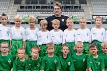 Část týmu FK Baumit Jablonec ročník 2008