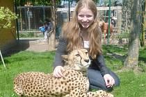 Martina se věnuje se i dalším aktivitám a ráda zajde i do zoologické zahrady.