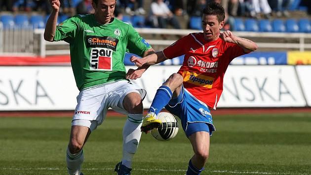 Fotbalisté Viktorie Plzeň remizovali v sobotu v utkání Gambrinus ligy s Jabloncem 1:1.