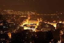 Noční pohled na Jablonec