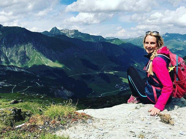 Anna Jelínková miluje turistiku.