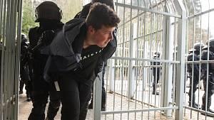 Pořádková jednotka cvičila v Jablonci na ostrý zásah při fotbale