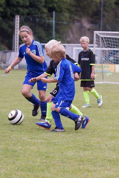 Z turnajů fotbalových předpřípravek v Brodě