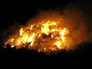 Požár. Ilustrační snímek.
