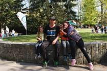 Jablonecký tyršův park. Ilustrační snímek