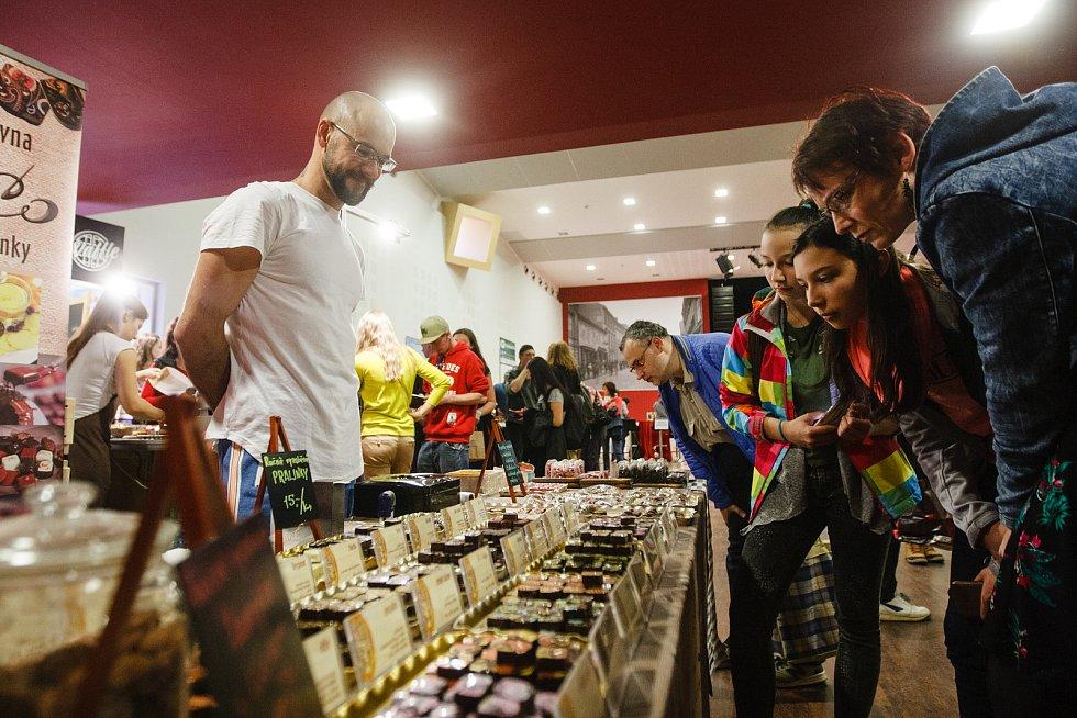 Čokoládový festival, konaný ve dnech 22. - 24.3. v Kulturním centru v Turnově
