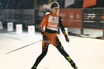 Adéla Boudíková, vítězka 10. ročníku seriálu SkiTour, ČEZ Bedřichovský Night Light Marathon.