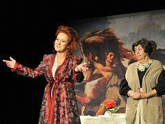 Simona Stašová v představení Filumena Marturano.