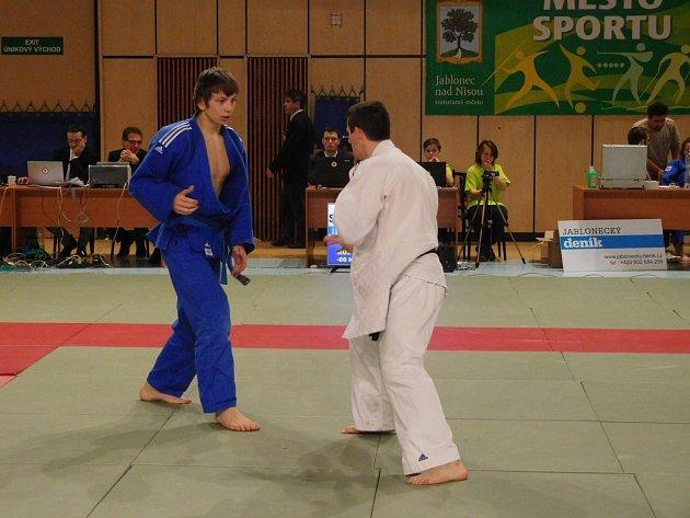 Akce v jablonecké městské hale, kterou pořádal Judo Klub Jablonec (archivní foto).