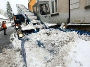 Zimní údržba v Jablonci n. N.