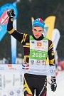 Závod v klasickém lyžování, ČT Jizerská 10, proběhl 17. února v Bedřichově na Jablonecku v rámci série závodů Jizerské padesátky. Hlavní závod na 50 kilometrů zařazený do seriálu dálkových běhů Ski Classics se pojede 18. února 2018. Na snímku je vítěz Mat