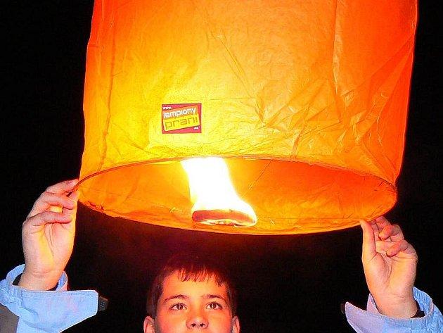 Lampion štěstí a přání.