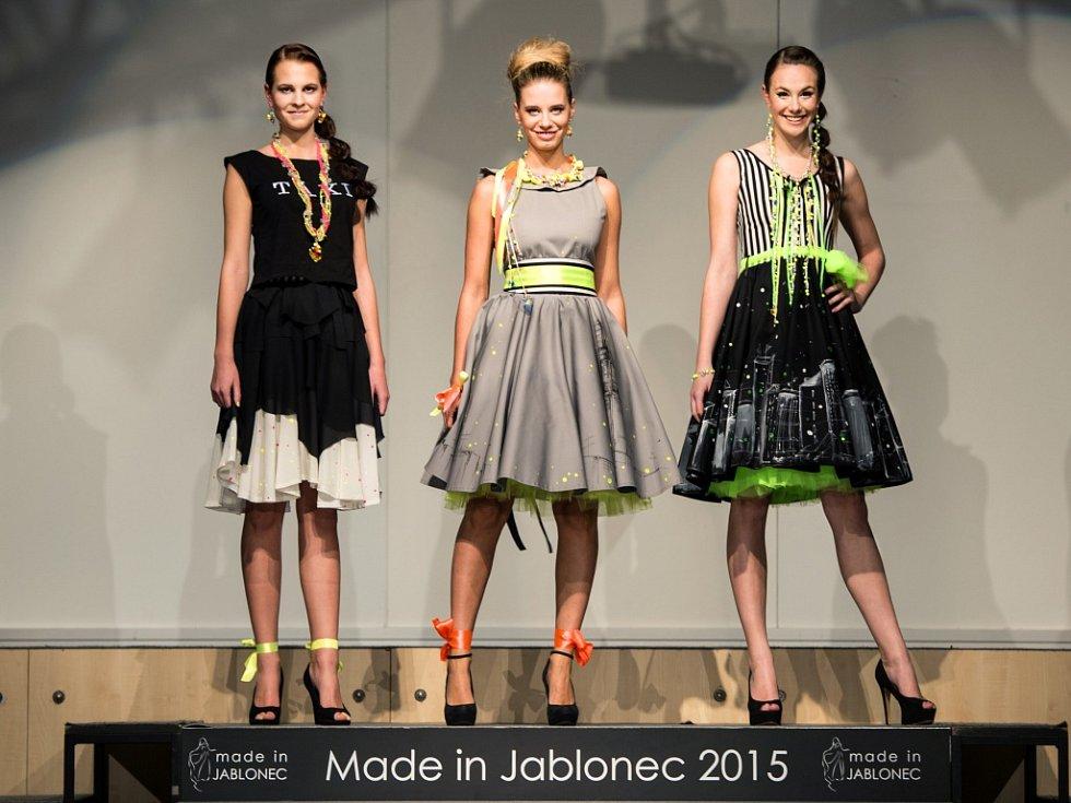 Přehlídka bižuterie Made in Jablonec 2015 v jabloneckém Eurocentru.