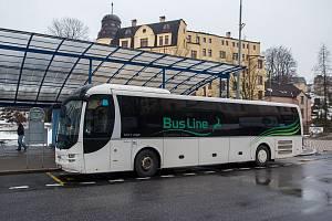 Současný dopravce v Jablonci n. N. BusLine. Ilustrační snímek.