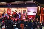 Vánoční kamion v Jablonci.