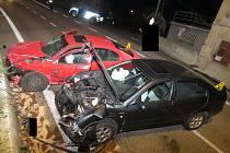 Opilý řidič vjel do protisměru a způsobil nehodu v Bratříkově.