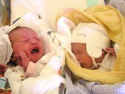 Dvojčata Tobiáš a Teodora Markovi se narodili Dominice Libánsilové a Vladimírovi Markovi z Tanvaldu 15. 3. 2016. Tobiáš vážil 2190 g a měřil 47 cm, Theodora vážila 2550 g a měřila 43 cm.