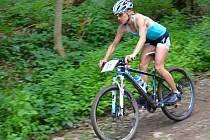 Jablonecká triatletka Helena Erbenová.